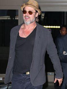 66abe48332610 46 Best Celebrity Eyewear- Brad Pitt + Angelina images