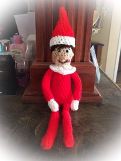 Free Knitting Patterns For Elf On The Shelf Clothes : 1000+ images about Crochet on Pinterest Crochet cable ...