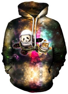 Astronaut Pals Unisex Hoodie