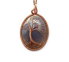 Tree-of-Life Pendant  Tree of life jewelry  Tree of by KittenUmka