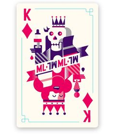 Mysteryland Playing Cards par Patswerk