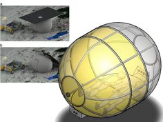 Camping on the Moon with an Inflatable Tent  , - ,   A high-tech infl...