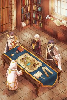 You this is what really happens in FE heros! It's just a board game! Lel!!!!