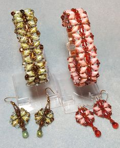 Excited to share the latest addition to my #etsy shop: Gemduo Dragonfly Bracelet Tutorial http://etsy.me/2Cm9psJ #jewelry #earrings #unisexadults #seedbeads #gemduo #diamonduo #crystal #toribethdesigns