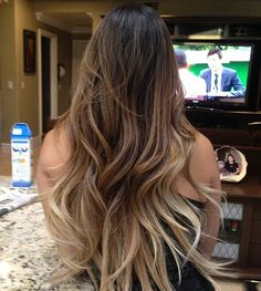 Ombre hair @Amber McFarland