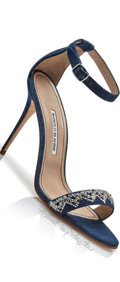 Regilla ⚜ Manolo Blahnik in collaboration with Rihanna