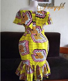 African Dresses Styles: Checkout This Creative African Dress Design – African Dresses Styles by Fatihbaba.store African Dresses Styles: Checkout This Creative African Dress Design – African Dresses Styles by Fatihbaba. African Dresses For Kids, Latest African Fashion Dresses, African Dresses For Women, African Print Fashion, African Attire, African Dress Designs, Modern African Dresses, Ankara Fashion, African Men