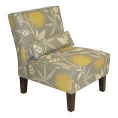 Amanda Accent Chair in Dove from  Joss and Main for @Stephanie Suwak