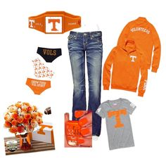 GO VOLS!!, created by hmarks on Polyvore