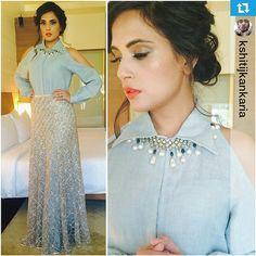 No photo description available. Western Dresses, Indian Dresses, Indian Outfits, Indian Clothes, Churidar, Anarkali, Lehenga, Indian Designer Outfits, Designer Dresses