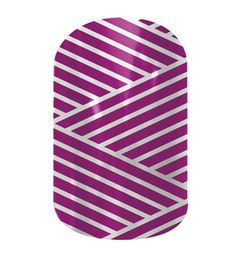 Purple and Silver Crisscross  nail wraps by Jamberry Nails maryoflanagan.jamberrynails.net