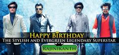 #Rajinikanth May this day bring countless happiness and endless joy. #HBDrajini #Evergreen #LengendarySuperStar.