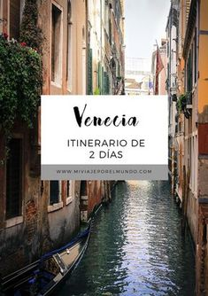 Qué hacer en Venecia en 2 días - Guía de viajes por Venecia #viajar #venecia #italia #europa #itinerarios Beautiful Places To Travel, I Want To Travel, Eurotrip, World Traveler, Where To Go, Aesthetic Wallpapers, Travel Tips, Travel Blog, Places To Visit