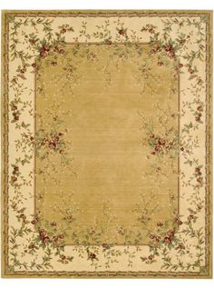 This Chambord Gold Collection rug (CM03) is manufactured by Nourison. The Nourison Chambord Collection Features Classic Styling and Design Elements That Truly Seem to Jump Out Off Their Fields.
