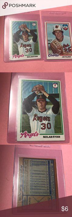 5f9453ef7 1978 Topps Baseball Nolan Ryan and Jim Palmer Nolan Ryan  400 EX-NM Jim