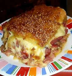 Cookbook Recipes, Cooking Recipes, Grilled Ham And Cheese, The Kitchen Food Network, Mumbai Street Food, My Best Recipe, Savoury Dishes, Greek Recipes, Brunch Recipes