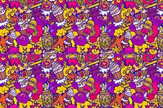 Funny seamless pattern. by Little A (Aigul) on Creative Market
