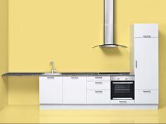 Yellow - Modern - Kitchen