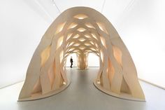 Gallery of Sewn Timber Shell / ICD University of Stuttgart + DDRC Tongji University - 1