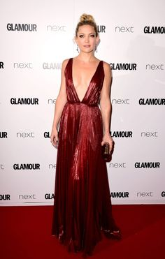 Kate Hudson de J.Mendel en los premios Glamour Women of the Year 2015