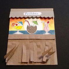 tiki bar card/invitation!