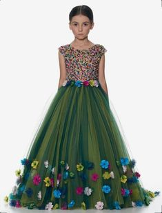 Order #HK1211 Nylon NET GOWN₹1655 on WhatsApp number +919619659727 or ArtistryC.in Net Gowns, Ball Gowns, Wedding Wear, Wedding Gowns, Eid Special, Kids Gown, Flower Girl Dresses, Prom Dresses, Princess Wedding