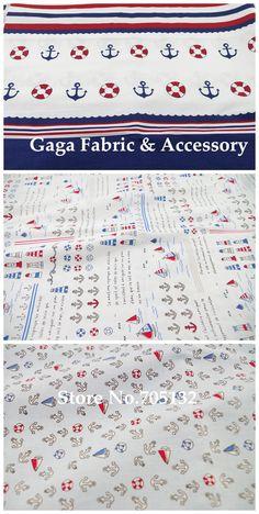 Якорь отпечатано хлопчатобумажная ткань лоскутное шитье домашний текстиль 40 см * 50 см 6 ассорти дизайн синий белый, принадлежащий категории Ткань и относящийся к Промышленность и бизнес на сайте AliExpress.com   Alibaba Group