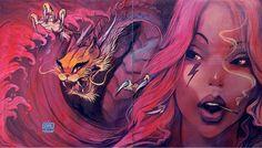 Новости: Уличное искусство: невероятно реалистичные граффит...