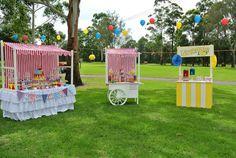 Big Top Circus themed birthday party Full of Really Fun Ideas via Kara's Party Ideas | Cake, decor, cupcakes, games and more! KarasPartyIdea...