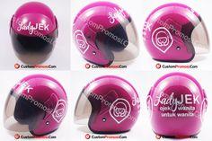 "Helm Promosi Pesanan ""LADY JEK"" Info Harga Hubungi +6281287068190"