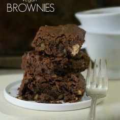 The Best Gluten-Free & Vegan Brownies