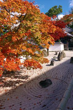 Japanese Rock Garden, Dazaifu, Fukuoka,