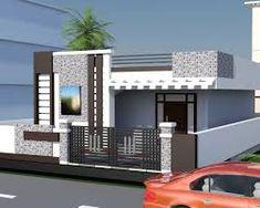 23 ideas exterior front entrance decor porch ideas for 2019 Single Floor House Design, House Front Design, Building Elevation, House Elevation, Exterior House Colors, Exterior Design, Modern Exterior, 20x40 House Plans, Front Elevation Designs