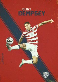 Clint Dempsey of USA wallpaper.