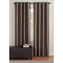 These classic Better Homes and Gardens Strie Stripe Window Panels feature a thermal lining that blocks light and helps keep out the heat and cold all year around. Grommets make these machine washable panels easy to hang. Size: 50 x Color: Gray. Canopy Curtains, Lined Curtains, Blackout Curtains, Window Curtains, Brown Curtains, Thermal Curtains, Drapery Panels, Window Panels, Window Coverings