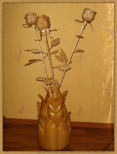 Деревянных дел мастер Ирина Криницына-Wooden maker Irina Krinitsyna