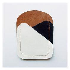 handmade leather cardholder