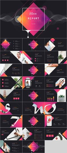 SWOT report PowerPoint template – The highest quality PowerPoint Templates and Keynote Templates dow Design Powerpoint Templates, Professional Powerpoint Templates, Creative Powerpoint, Keynote Template, Flyer Template, Graphic Design Templates, Report Template, Creative Presentation Ideas, Business Presentation Templates