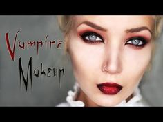 Seductive Vampire Makeup Tutorial || Halloween 2015 - YouTube