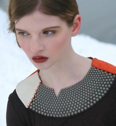 Tactile titanium collar by Carrie Dickens
