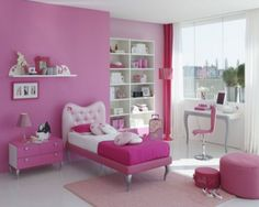 fuschia vs pink walls pink - Google Search please no!