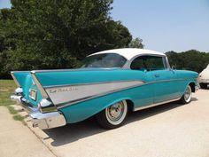 1957 Chevrolet Bel Air Sport Coupé Chevrolet Bel Air, Hot Rods, Classic Cars, Sport, Metal, Deporte, Vintage Classic Cars, Sports, Metals