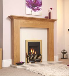 Gas Fires | Stirling Plus High Efficiency Inset Gas Fire From Flavel | Direct Fireplaces