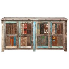 @Overstock.com - Bono Carved Panel 4 Door Buffet - This beautiful buffet is made from reclaimed print blocks, restored teak planks and wood sourced from old buildings and ship yards. This 4-door buffet will add charm and handy storage space to any room in your home.  http://www.overstock.com/Home-Garden/Bono-Carved-Panel-4-Door-Buffet/7579186/product.html?CID=214117 $1,239.99