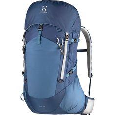 Haglöfs Airback™-utrustade Vina-serie är fyndigt designad för att ge ventilation baktill och smidig åtkomst. Fickor och vattenflaska finns inom räckhåll i farten, och väskan är utformad för kortare men krävande vandringsturer.