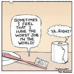 Which job is worse?