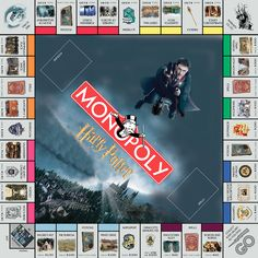 Another awesome fan made Harry Potter monopoly game. Harry Potter Board Game, Harry Potter Monopoly, Harry Potter Games, Mundo Harry Potter, Theme Harry Potter, Harry Potter Tumblr, Harry Potter Love, Harry Potter World, Harry Potter Characters