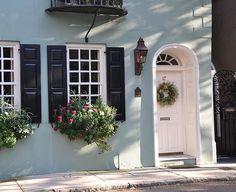 Window boxes in Charleston, S.C.