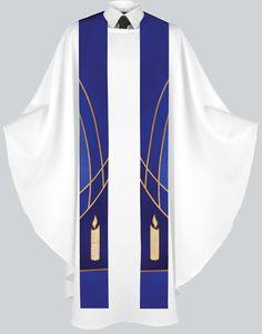 Liturgical Stole Candle Design