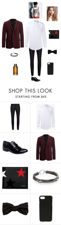 """H L I A A S P"" by queen-kaitlyn ❤ liked on Polyvore featuring Topman, Gucci, Joseph, Givenchy, StingHD, Alexander McQueen, Shinola, BOSS Hugo Boss, Chloé and men's fashion"